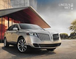 2012 Lincoln MKT sales brochure catalog US 12 EcoBoost Elite - $8.00