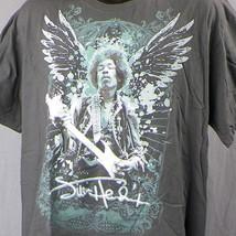 Jimi Hendrix T-Shirt 1X XL Zion Rootswear Tattoo Wings Are You Experienced  - $14.01