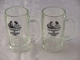 Older 1970's Style Farrell's Ice Cream Parlor Float Mugs VGC Set Of Two - $14.00