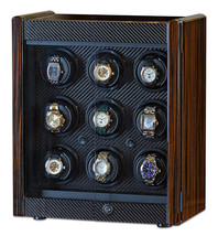 Orbita Avanti 9 Rotorwind Nine Automatic Watch Winder Cabinet Box W70007... - $5,885.55