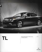 2012 Acura TL sales brochure catalog portfolio US 12 Honda - $8.00