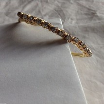 New String Theory fashion bracelet w felt gift bag made of guitar strings #3