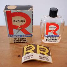 Vintage Mid Century Remington Shaver Saver Clea... - $25.49