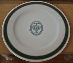 "Vintage 40s 50s Sheraton Hotel Iroquois Syracuse China 10.75"" Dinner Plate - $16.99"