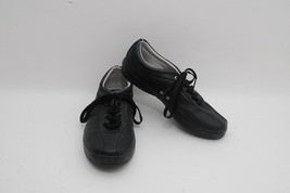 Mens Authentic Keds Spirit Black Leather Lace Up Sneakers US 9 - $34.99