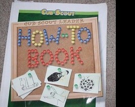 Cub Scout Leader How-To Book~Boy Scouts of America Staff~2003 PRINTING~P... - $4.20