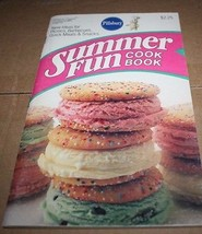 Summer Fun Cook Book Pillsbury Classic Cookbook... - $2.51