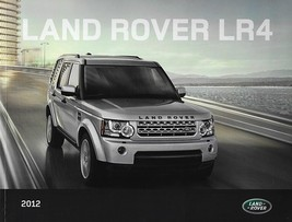 2012 Land Rover LR4 sales brochure catalog US 12 Discovery - $12.00