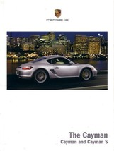 2008 Porsche CAYMAN sales brochure catalog US 08 S - $12.00