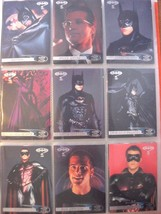 1995 Fleer Batman Set- 120 cards in pages and w/wrappers - $10.00