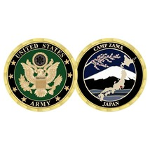 "ARMY CAMP ZAMA JAPAN 1.75"" CHALLENGE COIN - $17.14"