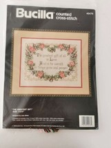 Bucilla Kit Greatest Gift of These is Love Crossstich 11 x 14  Vtg 1990 ❤️ - $29.99