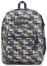 TRANS KIDS BACKPACK BY JANSPORT SUPERMAX CATTY CROWD NAVY MOONSHINE NWT ... - $27.75