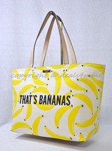 Kate Spade New York Flights Of Fancy That's Bananas Francis Tote in Cream/Yellow - $159.00