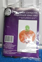 "New Inflatable Pumpkin with Stem 13.5"" X 15"" Fun - $3.89"