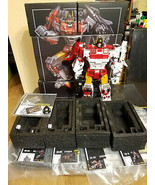 Transformers Zeta Toys Kronos Set of 5 G1 Aerialbots Superion Silver Arr... - $399.99