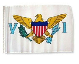 ALBATROS 12 inch x 18 inch U.S. Virgin Islands Sleeve Flag for use on Bo... - $19.81