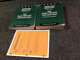 2004 Dodge Ram Truck 1500 2500 3500 Service Shop Repair Manual Set Diesel + - $296.99