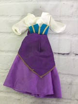 Vintage Disney Esmeralda Doll Fashion Dress Hunchback Of Notre Dame - $17.81