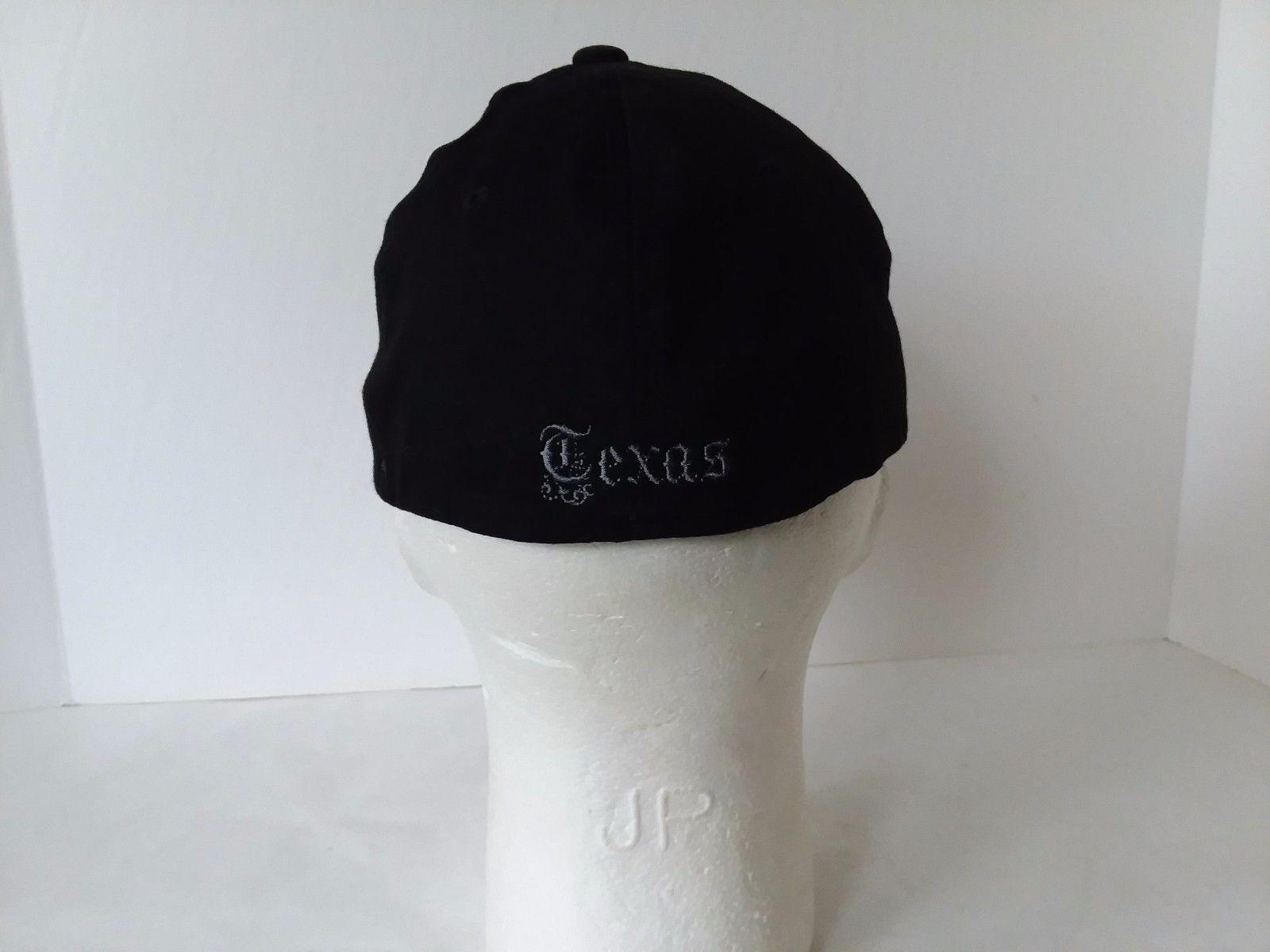 Baseball Hat Cap Black Texas A & M University Fitted L-XL