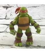 Nickelodeon Teenage Mutant Ninja Turtles Michaelangelo Action Figure Via... - $9.89