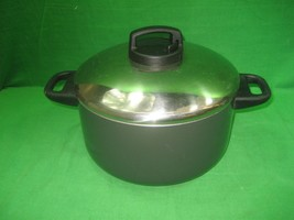 Vintage Meyer Milano Durable Non Stick Cooking Pot Pan & Lid Thermo Vent... - $23.33