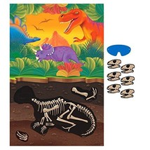 Amscan Dashing Prehistoric/Dinosaur Party Game Kit Birthday Party Favors... - £7.04 GBP