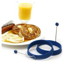 Norpro Silicone Round Pancake/Egg Rings, 2 Pieces - $10.34 CAD+