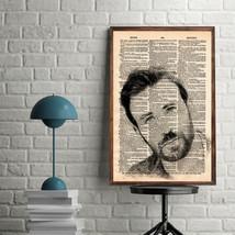 Celebrity Art Prints-Chris Evans Art Print-Movie Art Print-Chris Evans-H... - $11.82