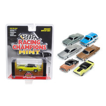 Mint Release 2 Set B Set of 6 cars 1/64 Diecast Model Cars by Racing Champions R - $47.99