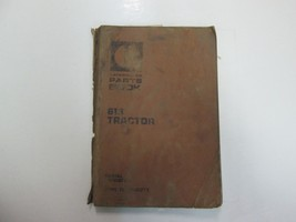 Caterpillar 613 Tractor Parts Book 71 M1 To 71 M1377 Damaged Stains Factory Oem - $19.75