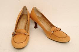 Womens Etienne Aigner Leather Brown Heels Size ... - $24.99