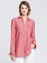 Banana Republic: Soft-Wash Linen Cotton Shirt, size L, New - $50.00