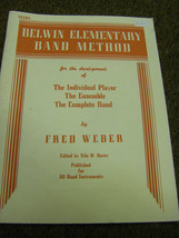 Belwin Elementry Band Method  Drums  Book - $1.98