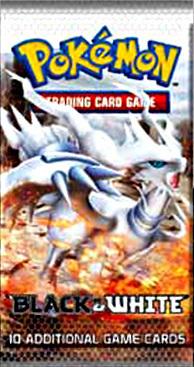 Pokemon black white booster pack