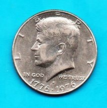 Bi-Cennetial  Kennedy Halfdollar Circulated Very Good or Better - Denver Mint - $4.00