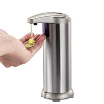 Automatic Soap Dispenser - Stainless Steel Style - $19.88