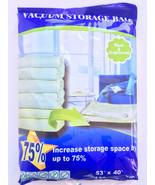"Super Size Vacuum Seal Storage Bag 53""X40"" - $11.88"