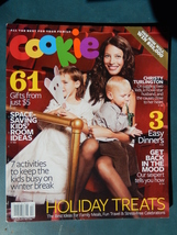 Cookie Magazine December 2007 - January 2008 Christy Turlington - $4.99