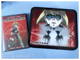 Slightly Used Armitage Duel Matrix LE DVD with Lunch and Figure - $10.00