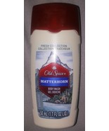 Old Spice Matterhorn Body Wash  1.7 fl. oz Travel Size  Lot of 4 - $7.23
