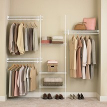 Closet Shelves Organizer Kit Storage System Han... - $99.95