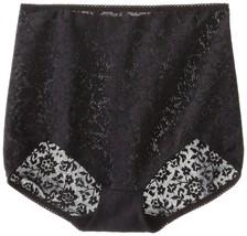 Rago Women's V Leg Extra Firm Control Brief Panty, Black, 7X-Large (44) - $22.77