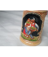 German Beer Stein Small Tanz mit mir Komm mei madl Colorful Detailed Cou... - $17.58