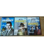 Set of 3 DRAGNET DVD Jack Webb Ben Alexander 10 episodes Police Joe Frid... - $14.64