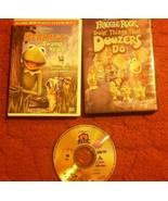 Set of 3 Jim Henson DVD Movies Fraggle Rock Swamp Year Bear Big Blue Hou... - $16.65