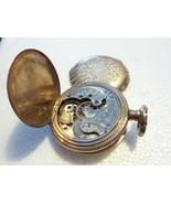 1897 Antique Elgin Pocket Watch #7520455 15 Jewel**PARTS AND REPAIR** - $71.25