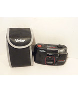 Vivitar Tri Vue 35mm Tele-Wide Panorama Flash Camera Untested With CASE - $2.57