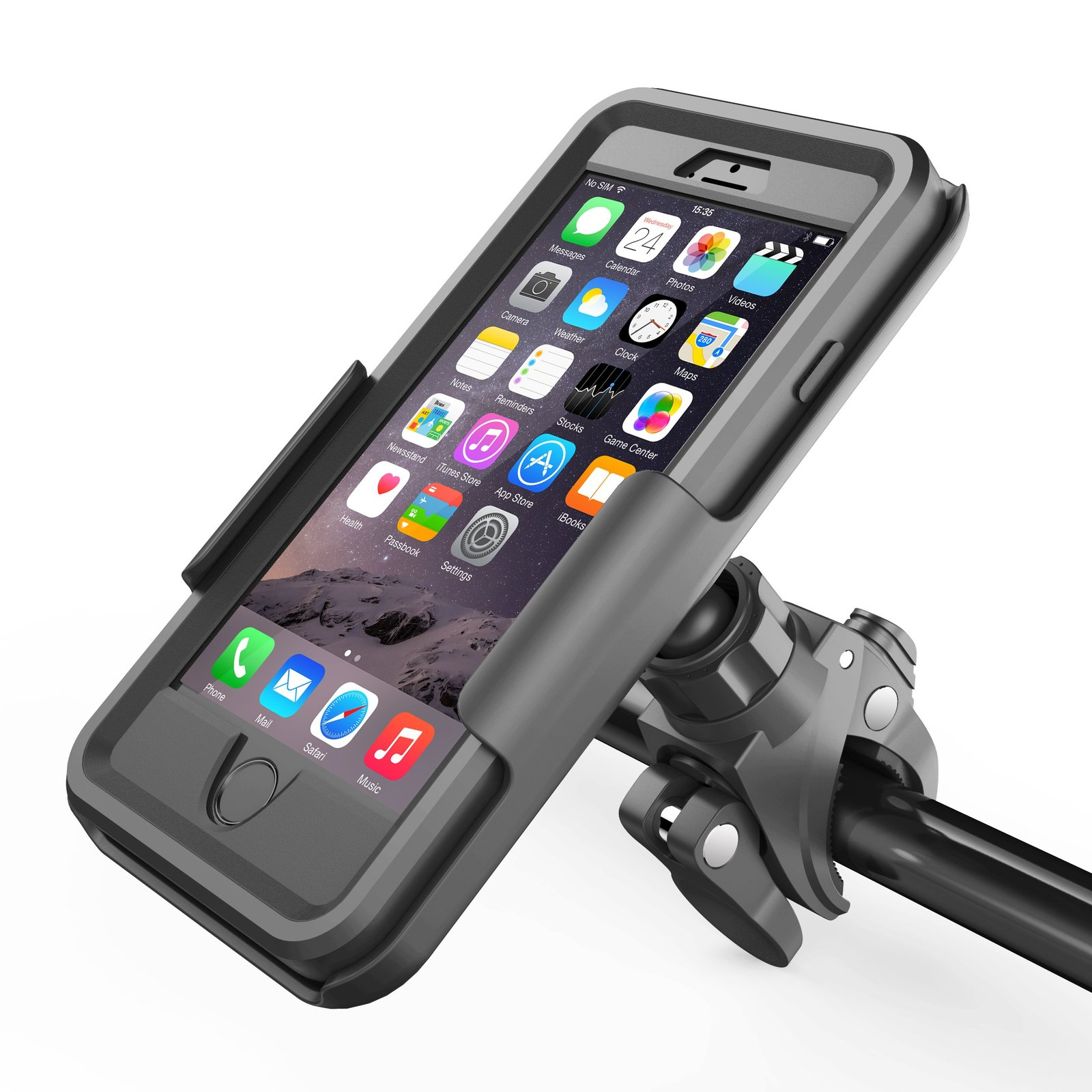 Used, Bike Mount For OtterBox Defender Case - iPhone 6 Plus 5.5 and iPhone 6S Plus 5.5 for sale  USA