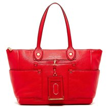 Marc by Marc Jacobs East to West Leather Large Tote Bag - Rosey Red - $245.99